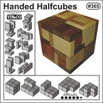 Handed Halfcubes